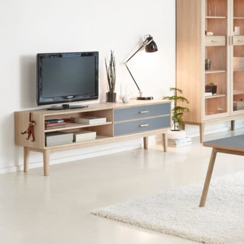CASØ 700 media furniture designed by Steffensen & Würtz